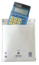 Vadderad påse Mail Lite vit 220x260 mm /100