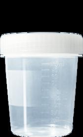 Biopsiburk med skruvlock 100 ml /st