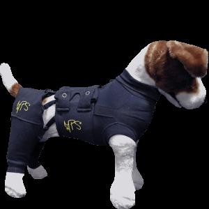 Medical Pet Shirt bakbensskydd 2XS /par