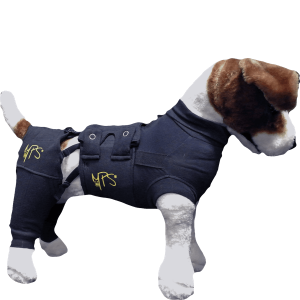 Medical Pet Shirt bakbensskydd XL /par