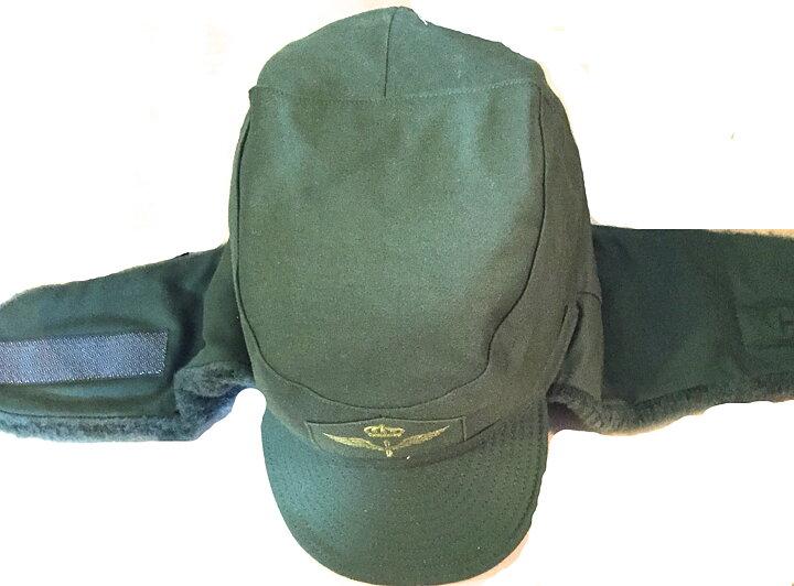 7adfabd9e5cbad Swedish army winter hat m/59 FV with velcro - Beredskapsboden