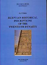 Egyptian Historical Inscriptions of the Twentieth Dynasty