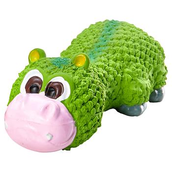 Hippo Latex 21 cm grön