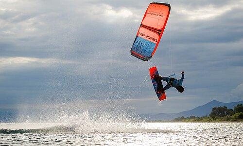 KiteSurfing Upplev mera