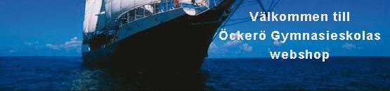 Webshop för Öckerö gymnasieskola