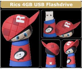 Minkster - Rics - USB minne
