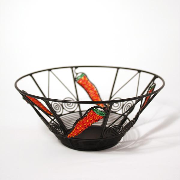 Wrought iron bowls
