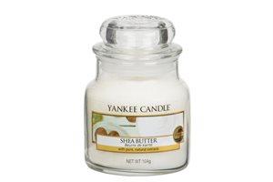 Shea Butter, Small Jar, Yankee Candle