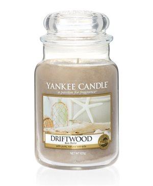 Driftwood, Large Jar, Yankee Candle