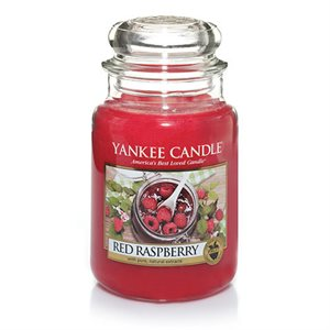 Red Raspberry, Large Jar, Yankee Candle