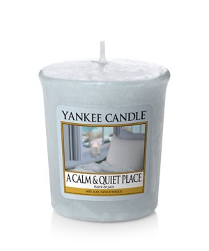 A Calm & Quiet Place, Votivljus / Samplers, Yankee Candle