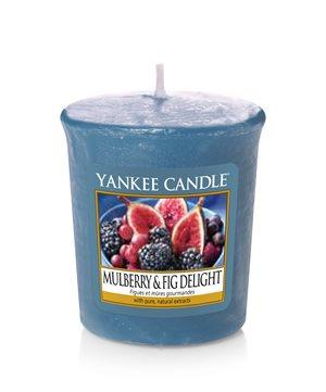 Mulberry & Fig Delight, Votivljus / Samplers, Yankee Candle