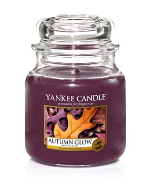 Autumn Glow, Medium Jar, Yankee Candle