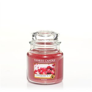 Cranberry Ice, Medium Jar, Yankee Candle