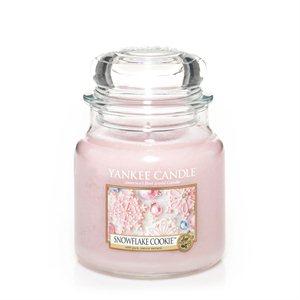 Snowflake Cookie, Medium Jar, Yankee Candle