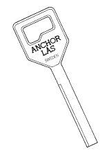 Anchor nyckel 800