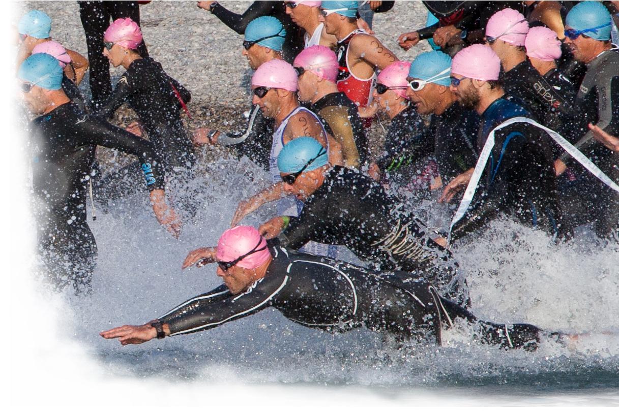 bästa våtdräkten för simning