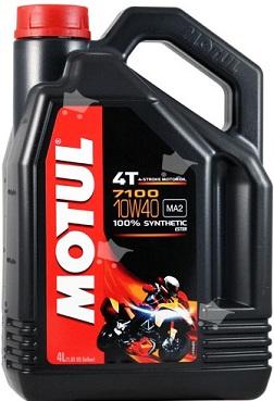 Motul 7100 10W-40 4T  Helsyntet 4 Liters dunk 104092
