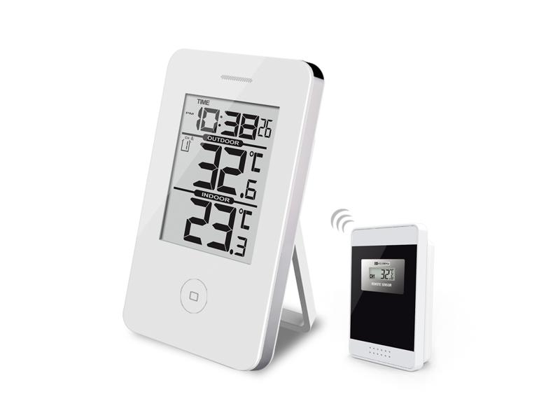 Välkända Digital termometer Vit Trådlös - Termometerbutiken SM-53