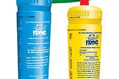 Frog mineral vattenreningssystem för spabad