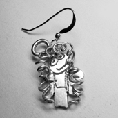 Childrens drawing charm