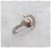 Cool döskalle ring