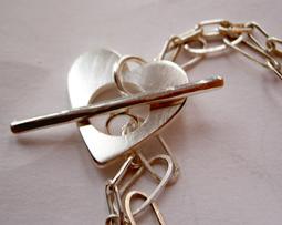 Beautiful bracelet in silver