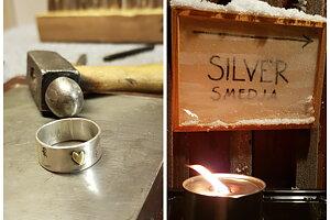 Lär dig silversmide hos fruSmed