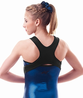 Racer back Tank with side panels
