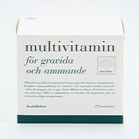 New Nordic MULTIVITAMIN  gravida/ammande 270st