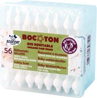 BOCOTON Bomullspinnar för barn 56st