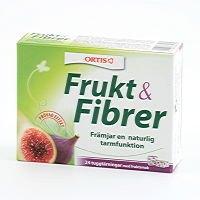 ORTIS Frukt & fiber 24 tärningar