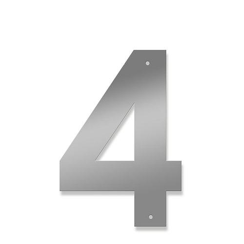 UTFÖRSÄLJNING! Alla akrylsiffror/bokstäver i färgen aluminium kan du nu fynda pga utgående färg.