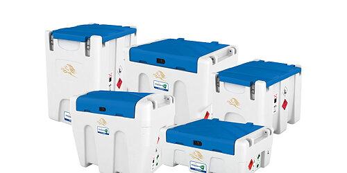 Adblue tranporttankar Tillverkade i polyeten.