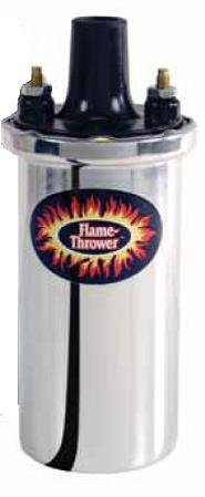 Pertronix Flame Thrower, Tändspole 4, 6 & 8-cyl motorer, Universal Chrome