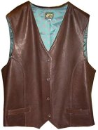 VEST IN ELCHLEATHER Soft wonderfull elkleather