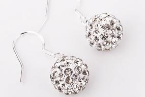 Shamballa knopp silver med hänge