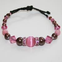 Rondell  Brun/rosa