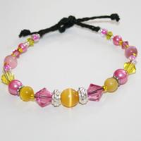 Metall gul/rosa