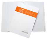 Perfect Bound, A4 Noteringsbok linjerat med mjukbandsbindning och rundade hörn