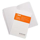 Perfect Bound, Pocket Anteckningsbok linjerat med mjukbandsbindning och rundade hörn
