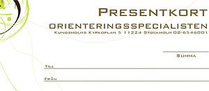 Presentkort - Valfritt belopp