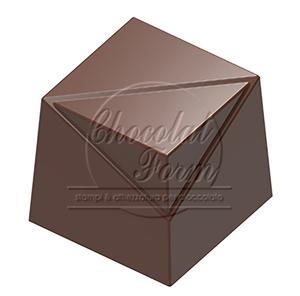 Pralinform kub med hörn