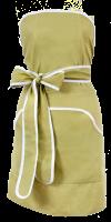 Förkläde nilgrönt
