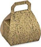 Väskask guld/svart (2 bitar)
