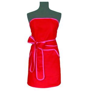 Förkläde, röd