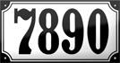 11x21cm, max.5 tecken, € 49