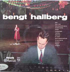 HALLBERG, BENGT 1957 LP