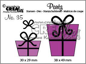 Crealies -  Partz - paket