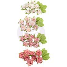 Blommor Prima - Fruit Paradise Mulberry Paper Flowers- Raspberry Kisses